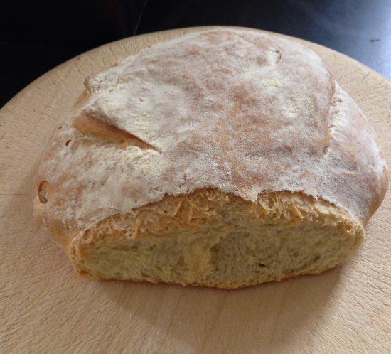 fresh home-made sourdough