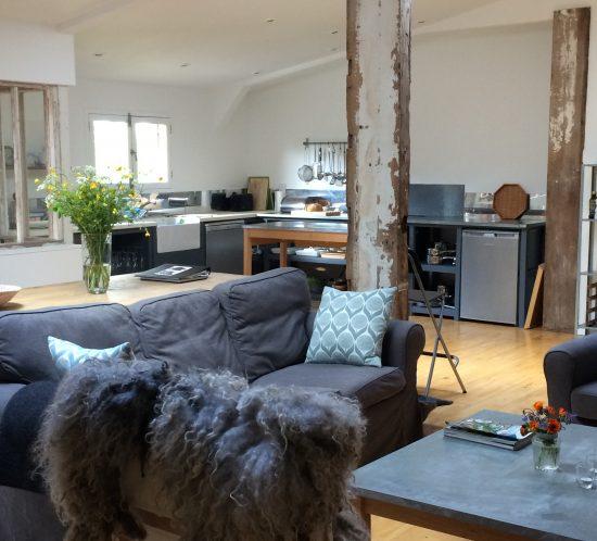 Interior views of living area