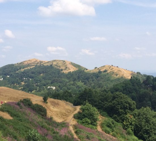 View from top of the Malverns